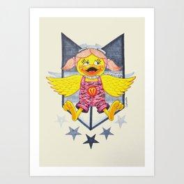 SkyBomber Art Print