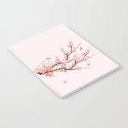 Pink Cherry Blossom Dream Notebook