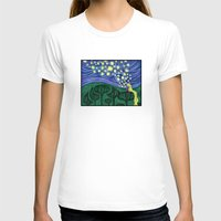 lanterns T-shirts featuring Impressionist Lanterns by Kimberly Castello
