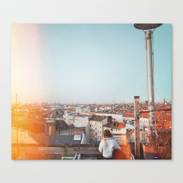 Roof Top Bar In Berlin Canvas Print