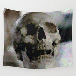 Geometric Skull Wall Tapestry