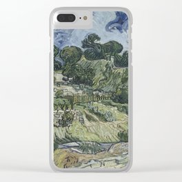 Thatched Cottages at Cordeville Clear iPhone Case