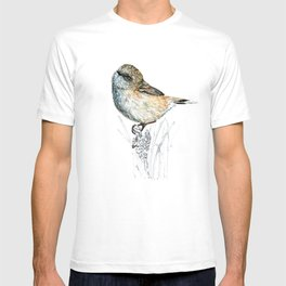 Mr Riroriro, the New Zealand Grey Warbler T-shirt