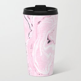 Light pink marble Travel Mug