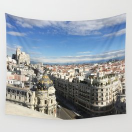 Madrid, Spain - Rooftop Wall Tapestry