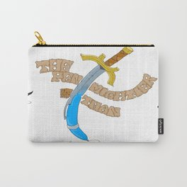 The Sword and the Pen Carry-All Pouch