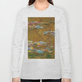 """Claude Monet """"The Water Lily Pond"""", c.1917-19 Long Sleeve T-shirt"""