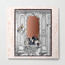 Ghosts in the Mirror I Metal Print