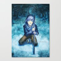 jack frost Canvas Prints featuring Jack frost by keiden