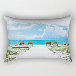 Sun Tan Rectangular Pillow