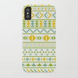 Christmas Jumper Pattern iPhone Case