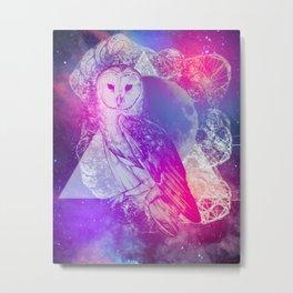 Hoot Metal Print