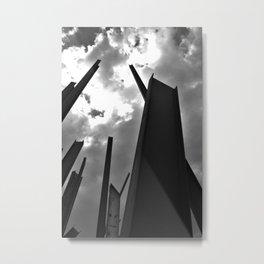 Building Gaps Metal Print