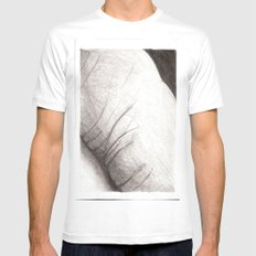 land of you MEDIUM White Mens Fitted Tee