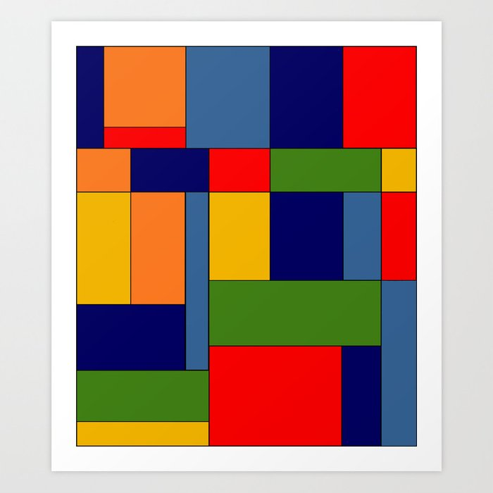 Abstract #348 Art Print