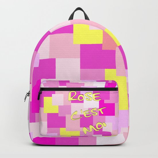 Pink is Me Backpack