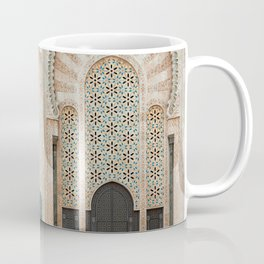 Mosque Hassan II in Casablanca, Morocco Coffee Mug