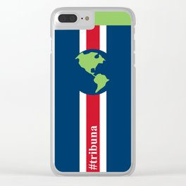 #Tribuna Costa Rica y el mundo Clear iPhone Case