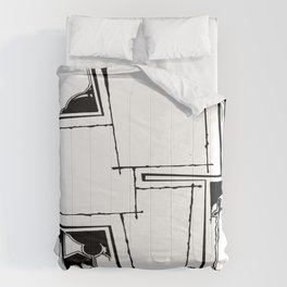 Drawing A Blank Comforters