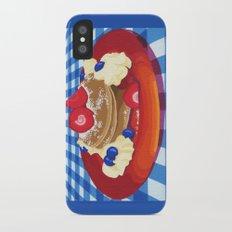 Pancakes Week 10 iPhone X Slim Case