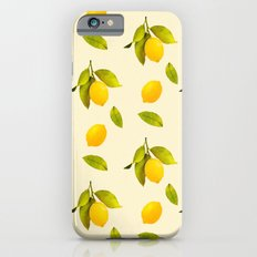 Lemon Pattern Slim Case iPhone 6s