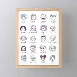 Emotions & Feelings Framed Mini Art Print