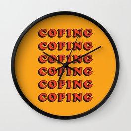 Coping Wall Clock