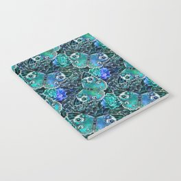 Butterflies In Blue Notebook