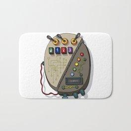 MACHINE LETTERS - 0 Bath Mat