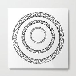 Spiral Metal Print
