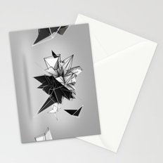Abstract Polygon  Stationery Cards