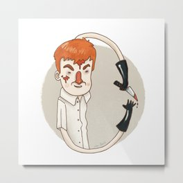 Dexter (Alphabet series TV) Metal Print