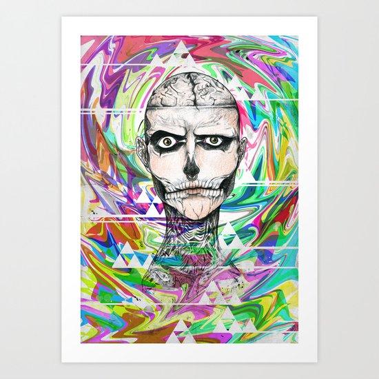 Rick Genest Art Print