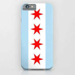 Chicago City Flag Windy City Standard iPhone Case