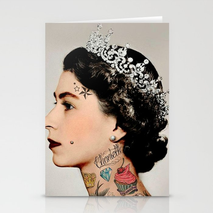 Rebel Queen Stationery Cards