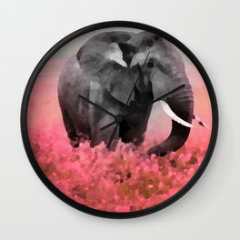 Ele-Phant  Wall Clock