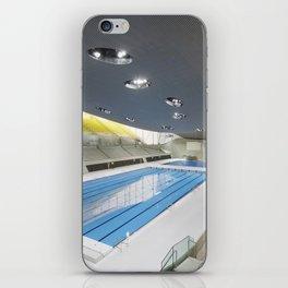 London Aquatics Centre   Zaha Hadid architect iPhone Skin
