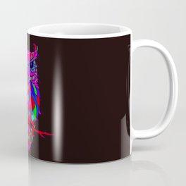 Owl Mosaic Pattern Summer Coffee Mug