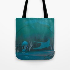 THE DOME - Fantasy | Animals | underwater | Ocean | Sci-fi | Whales | Ocean  Tote Bag