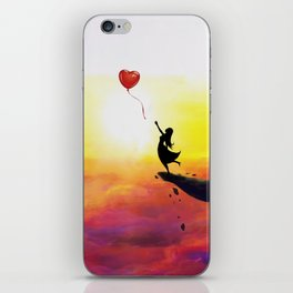 Catching Love iPhone Skin