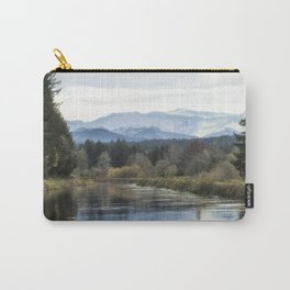 Leaburg Canal in the Fall Carry-All Pouch