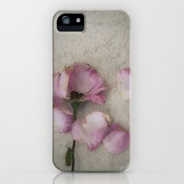 Wilted Rose iPhone Case