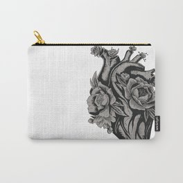 My Floral Heart Carry-All Pouch