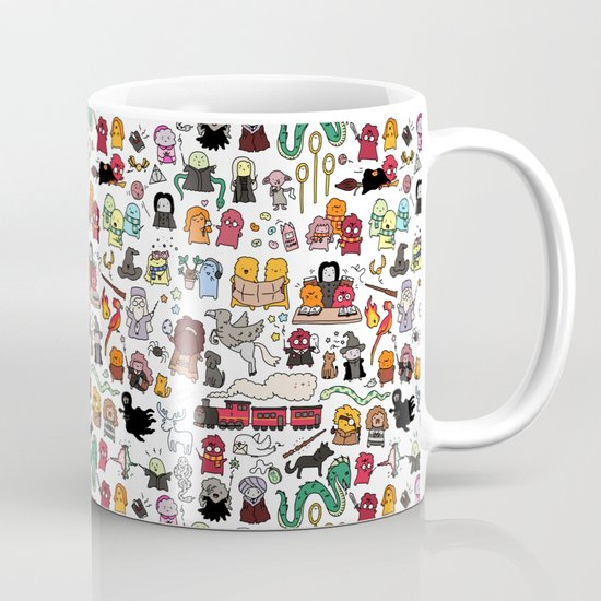 Kawaii Harry Potter Doodle Mug By Kirakiradoodles Society6