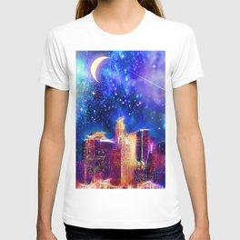 Starry Night Los Angeles T-shirt