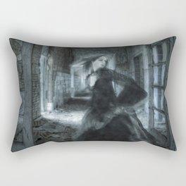 Prisoner Of Time Rectangular Pillow