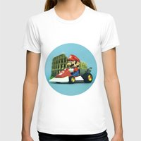 mario kart T-shirts featuring Super Mario: the homecoming by josemanuelerre