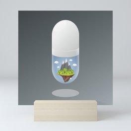 The Bittersweet Pill I Mini Art Print