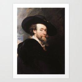 Peter Paul Rubens - Portrait of the Artist Art Print