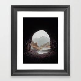 Cave Framed Art Print